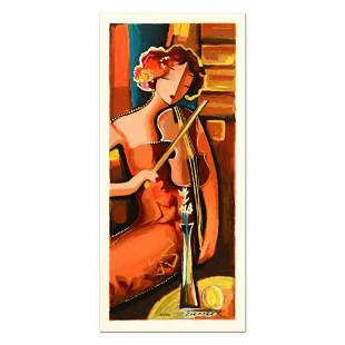 """Michael Kerzner, """"The Violinist"""" Limited Edition"""
