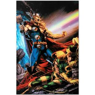 """Marvel Comics """"Thor: First Thunder #5"""" Numbered Limited"""