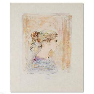 """""""Sami #11"""" Limited Edition Lithograph by Edna Hibel"""