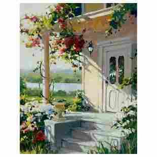 "Marilyn Simandle, ""Summer Villa"" Limited Edition on"