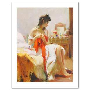 """Pino (1939-2010) """"Expectations"""" Limited Edition Giclee."""