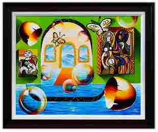 "Alexander Astahov- Original Oil on Canvas ""Beauty of"