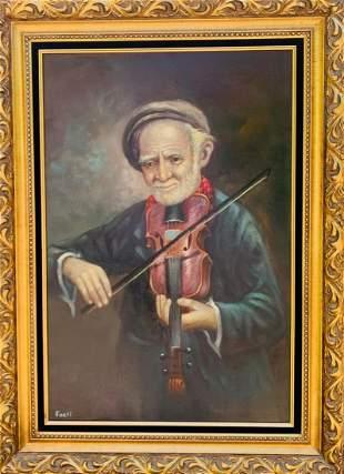fanti Original Oil Painting on Canvas