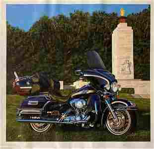 "Scott Jacobs- Original Giclee on Canvas ""Park Light"""