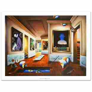 """""""Interior with Magritte"""" Limited Edition Giclee on"""