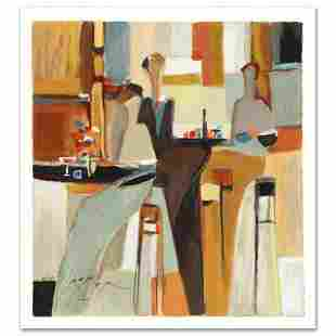 """Yuri Tremler, """"Evening Out"""" Limited Edition Serigraph"""