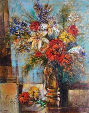 "Rodansky- Acrylic on Canvas ""Untitled"""
