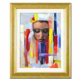 """Vincent Cacciotti, """"Dream In Color"""" Framed Original Oil"""