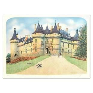"""Rolf Rafflewski, """"Chateau de Chaumont"""" Limited Edition"""