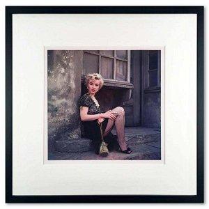 "Milton Greene (1922-1985), ""Bus Stop I"" Framed Original"