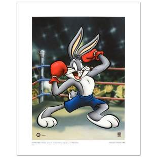 """""""Boxer Bugs"""" Limited Edition Giclee from Warner Bros.,"""