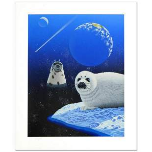 """""""Our Home Too IV (Seals)"""" Limited Edition Serigraph by"""