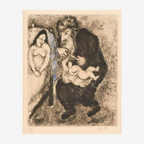 Marc Chagall Watercolor