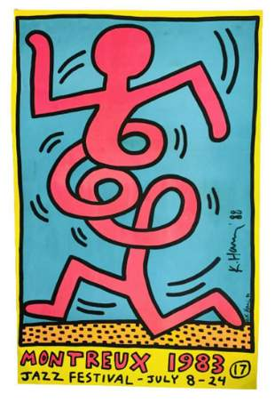 Keith Haring Silkscreen