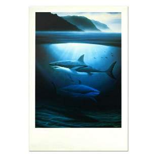 """Wyland, """"Great White Sharks"""" Limited Edition"""