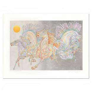 Guillaume Azoulay- Silver Leaf Edition Serigraph on