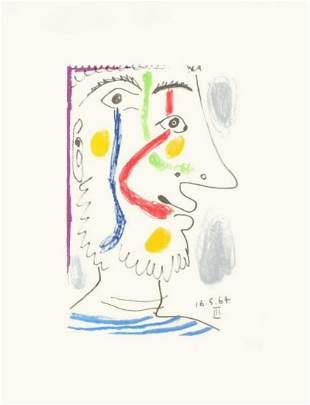 """Pablo Picasso- Lithograph """"Le Gout du Bonheur 10"""""""