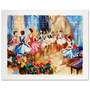 """""""Ballet Studio"""" Limited Edition Serigraph by Michael"""