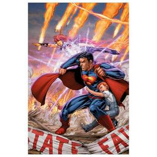 """DC Comics, """"Superman #29"""" Numbered Limited Edition"""