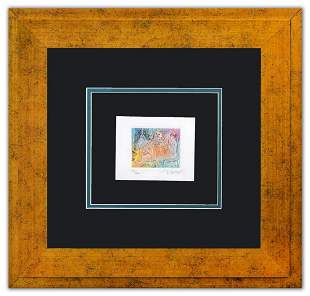 "Peter Max- Original Lithograph ""Homage to Picaso Vol"