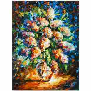 """Leonid Afremov (1955-2019) """"A Thoughtful Gift"""" Limited"""