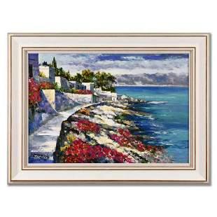 "Howard Behrens (1933-2014), ""Memories of Santorini II"""