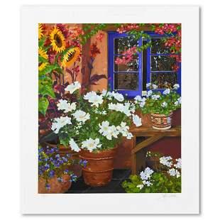 "John Powell, ""Blue Window"" Limited Edition Serigraph,"