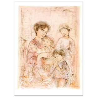 """""""Lotte and Her Children"""" Limited Edition Lithograph"""