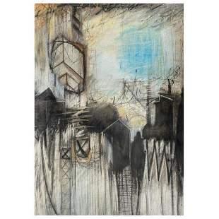 "John & Elli Milan, ""Abstract Study III"" Hand Signed"