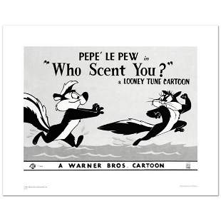"""""""Who Scent You"""" Limited Edition Giclee from Warner"""