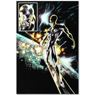 """Marvel Comics """"Silver Surfer: In Thy Name #4"""" Numbered"""