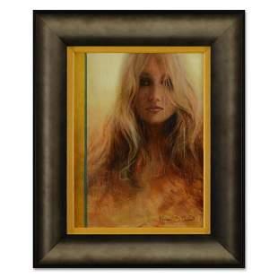 "Vincent Cacciotti, ""Distant Memory"" Framed Original Oil"
