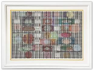 Yaacov Agam- Original Screenprint in colors on Arches