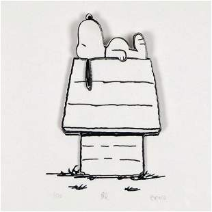 """Peanuts, """"Happy Place"""" Hand Numbered Limited Edition 3D"""