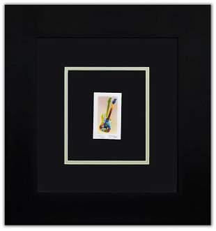 "Peter Max- Original Lithograph ""Rock 'N' Roll"""