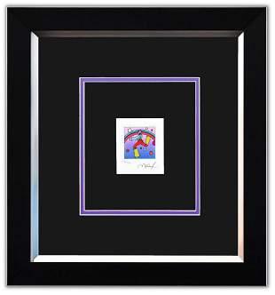 "Peter Max- Original Lithograph ""Cosmic Jumper Detail I"