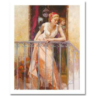 """Pino (1939-2010) """"At the Balcony"""" Limited Edition"""