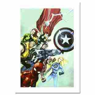 "Marvel Comics, ""Secret Invasion #1"" Numbered Limited"