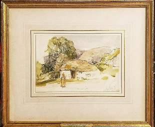 John Frederick Lewis 1805-1876 Original graphite &
