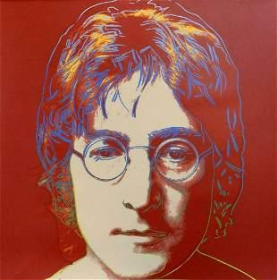 "Andy Warhol- Screenprint in colors ""John Lennon"""