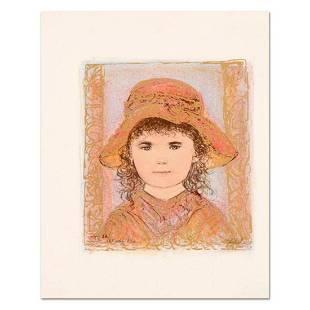 "Edna Hibel (1917-2014), ""Glori"" Limited Edition"