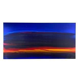 "Wyland, ""Stars At Sea"" Hand Signed Original Painting on"
