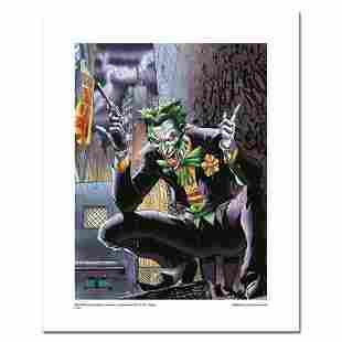 """""""Joker"""" Numbered Limited Edition Giclee from DC Comics"""