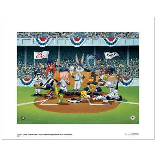 """""""Line Up At The Plate (Cubs)"""" is a Limited Edition"""