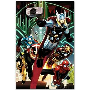 """Marvel Comics """"Avengers #5"""" Numbered Limited Edition"""