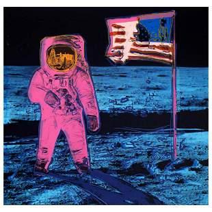 """Andy Warhol """"Moonwalk"""" Limited Edition Silk Screen"""