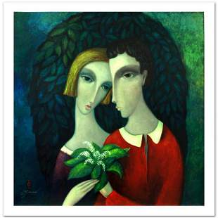 """Sergey Smirnov (1953-2006), """"Homage To Chagall"""" Limited"""