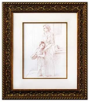 "Pino (1939-2010)- Original Drawing on Paper ""Untitled"""