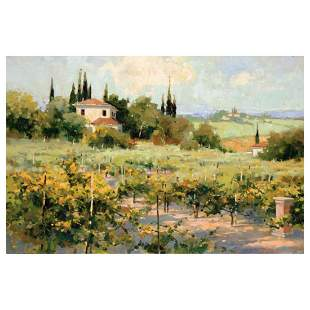 """Marilyn Simandle, """"The Vineyard"""" Limited Edition on"""