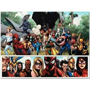 "Marvel Comics ""Secret Invasion #1"" Numbered Limited"